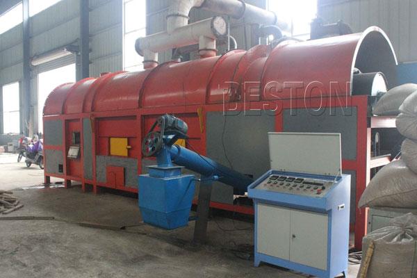 rice hull carbonizer design