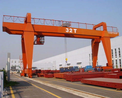 Heavy duty mounted gantry crane for construction project for sale