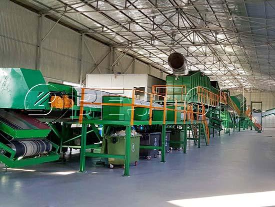 Waste Sorting Plant in Uzbekistan