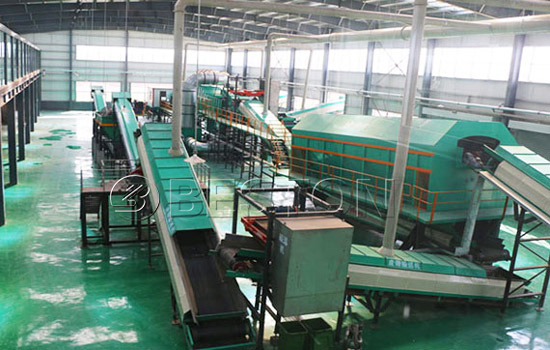 Beston solid waste disposal plant for sale
