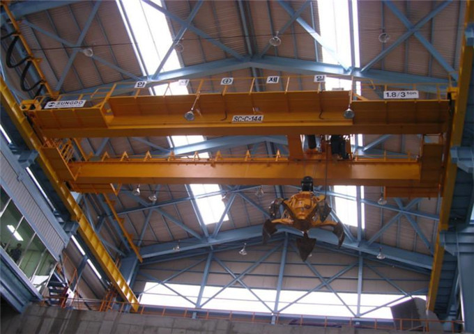 Grab bridge crane for sale