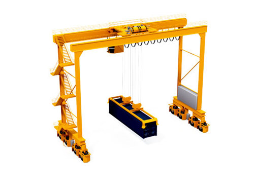 60ton Double Girder Gantry Crane