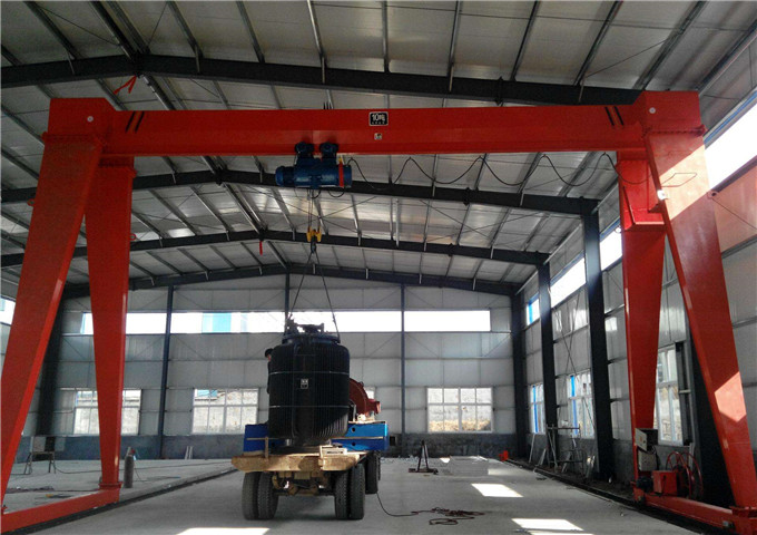 Installation of gantry cranes from the manufacturer