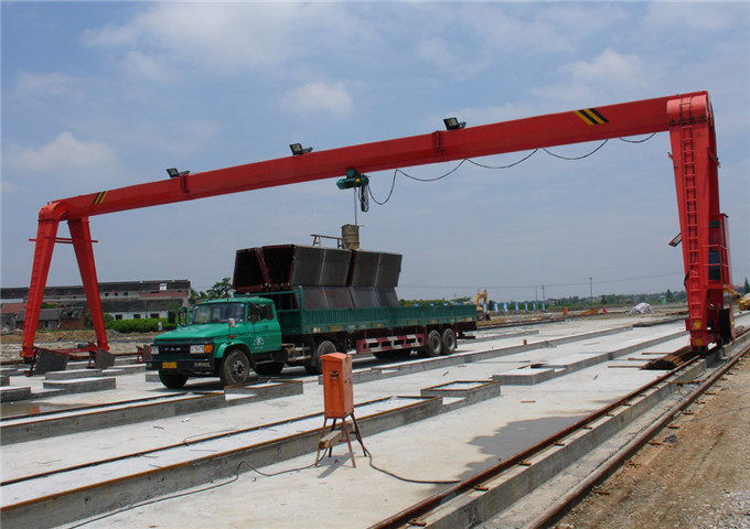 Reliable price gantry crane 12.5 tons